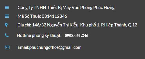 Sửa máy photocopy Ricoh C6501/7501